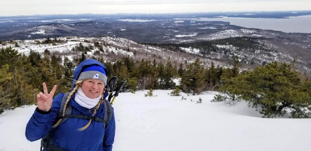 Cadillac Mountain Winter Summit