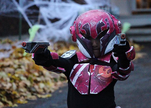 Sabine Wren kids costume helmet