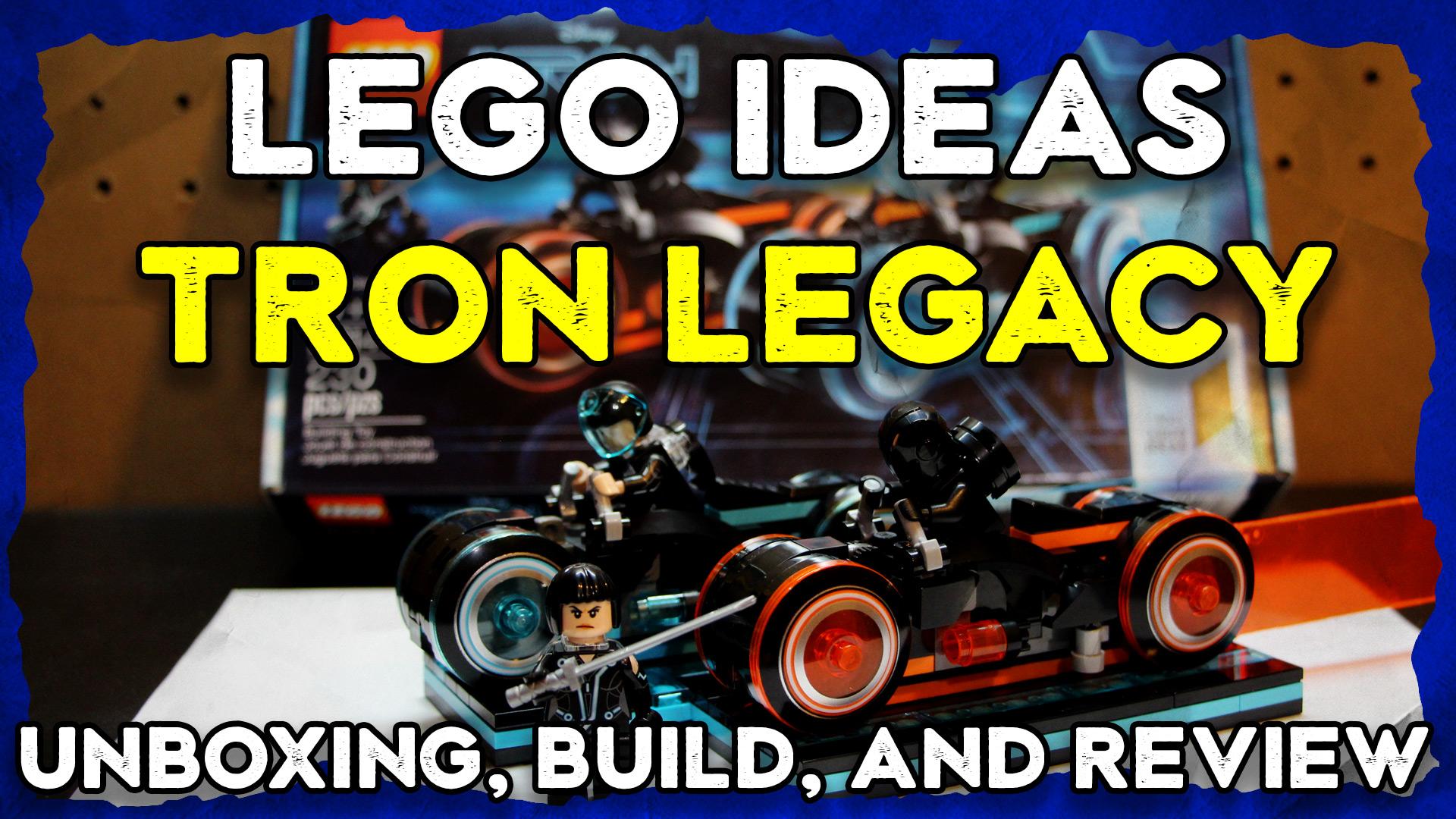 Lego Ideas Tron Legacy
