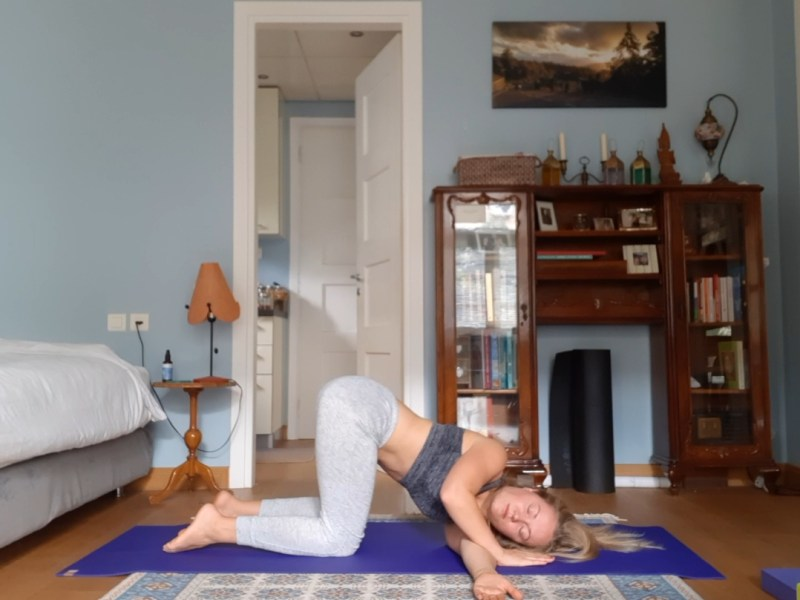 yoga for relaxation and letting go - twist