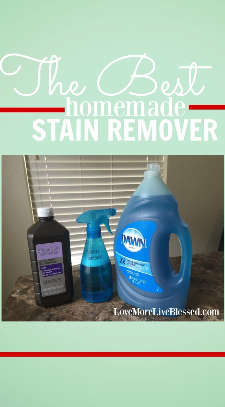 The best homemade stain remove that will save your sanity and your clothes!