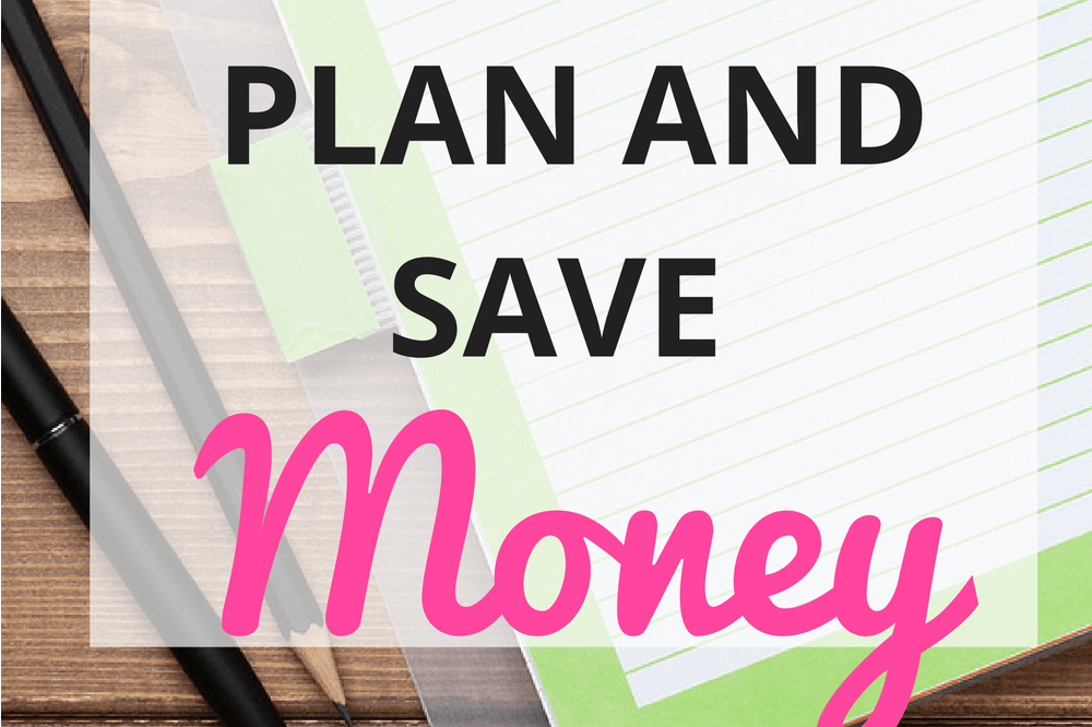 How to Meal Plan and Save Money