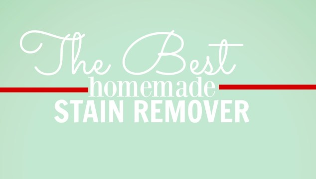 A Homemade Stain Remover That Will Save Your Sanity