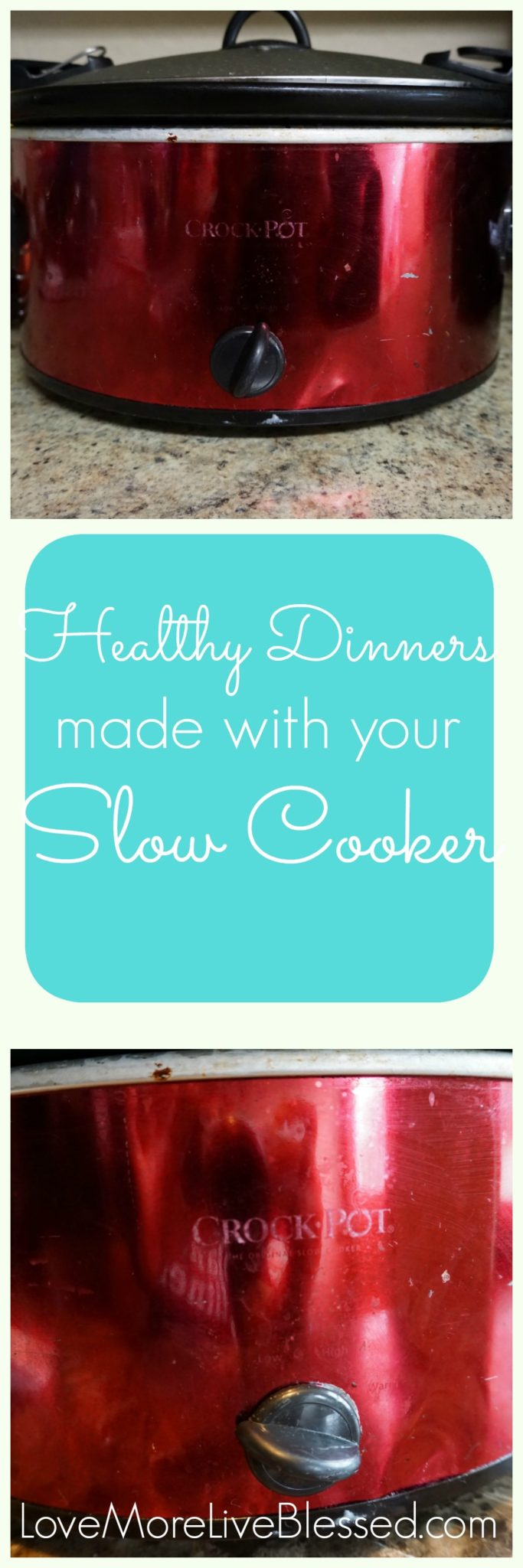 How your slow cooker can help you make healthy dinners + 3 awesome dinner ideas.