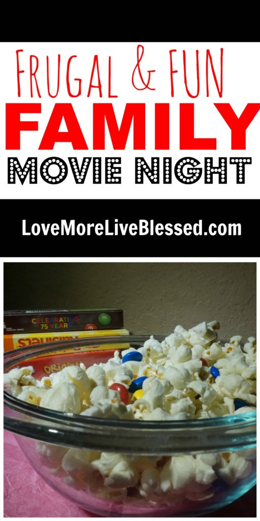 Family movie night can be frugal with #DataAndAMovie #ad
