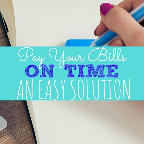 I love how easy it is to pay my bills on time with this easy system. #Money #Payingbills