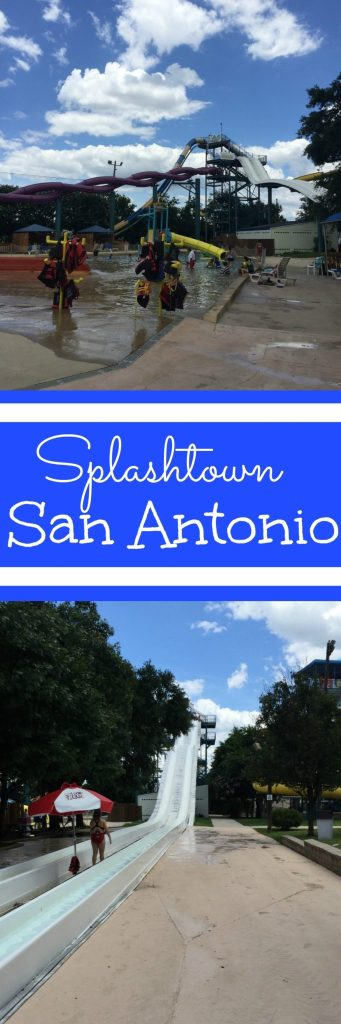 We really loved our day at Splashtown in San Antonio. It's a kid-friendly, fun place to spend a hot day in. My favorite part was the lazy river!