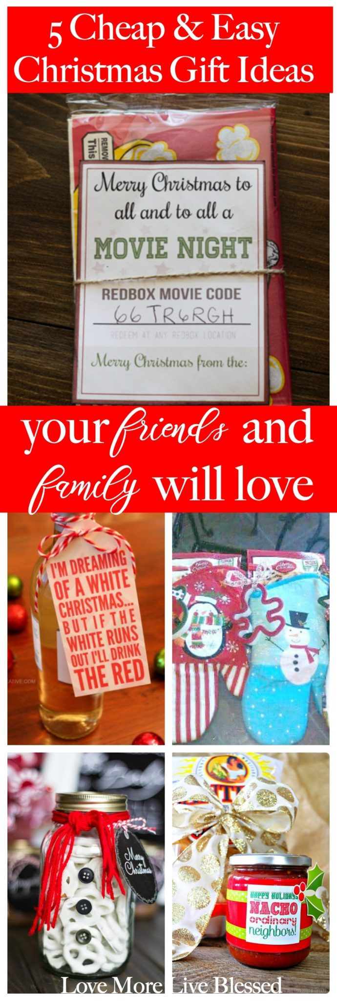 5 Gift Ideas For Friends And Neighbors Love More Live Blessed