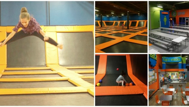 Having Fun At Flip'z Trampoline Park