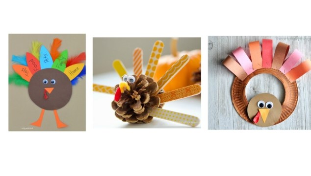 3 Fun & Easy Thanksgiving Crafts For Kids