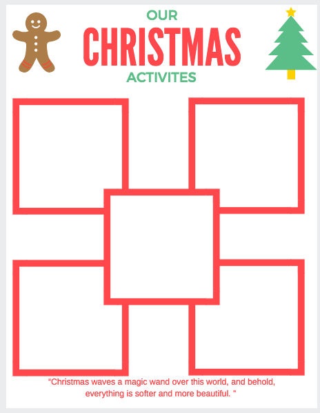 Why are Christmas traditions so important? Because those traditions make long-lasting memories for our kids. Whether we're baking cookies, DIY-ing Christmas gifts or just hanging out watching a movie and sipping on cocoa, it's important to celebrate the Christmas magic during the holiday season! Free printable to plan out your Christmas activities. Pin now!