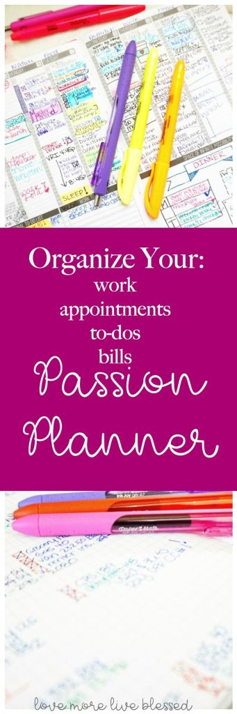 Looking for a way to organize your life with a planner? It's possible. I use the Passion Planner and in this post I break down each section of the passion planner and how it can help you live a more organized life.