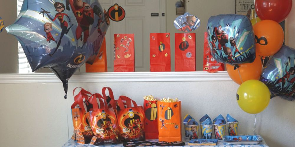 INCREDIBLES 2 WATCH PARTY & FREE COLORING PAGE PRINTABLE