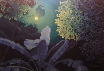 A Lua e a Mata (2013) 70x100cm SOLD