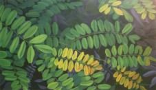 Leaflets (2014) 70x120cm acrylic on canvas AVAILABLE