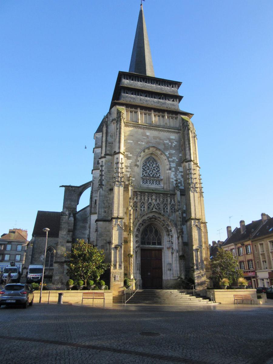 The Church in Neufchatel en Bray