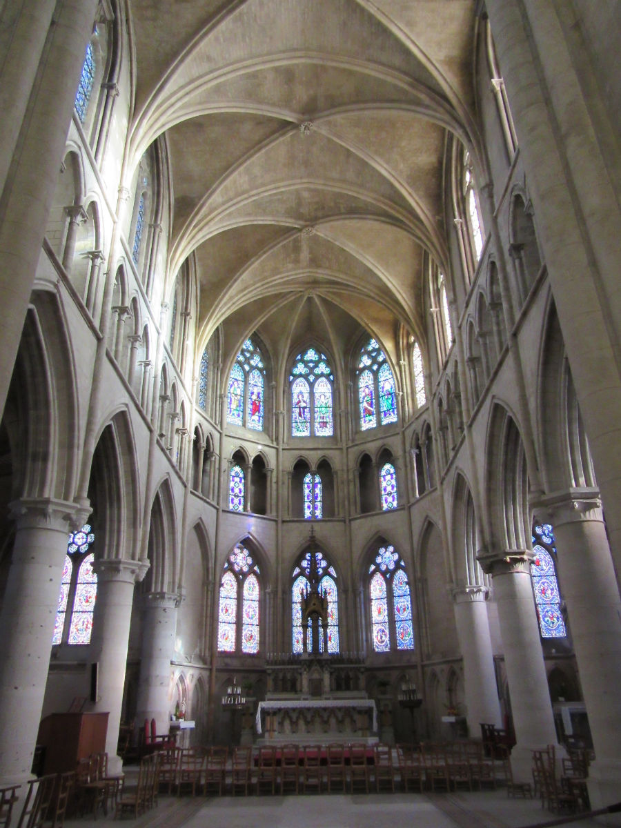 Inside the Church in Neufchatel