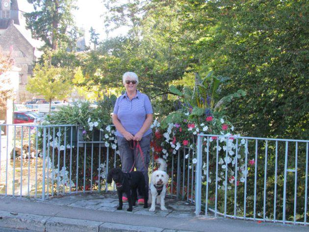 Azay le Rideau on a sunny Sunday