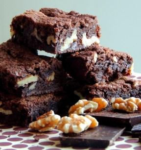 Klassisk Brownie med valnødder