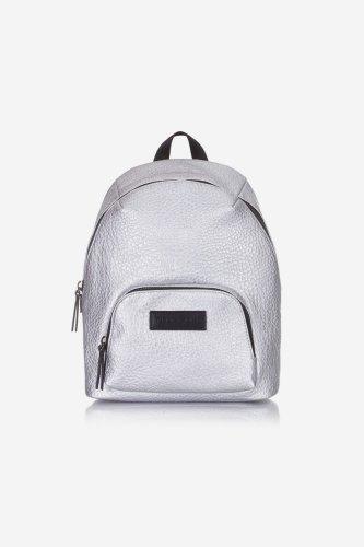 Tiba and Marl Mini Elwood Backpack (silver)
