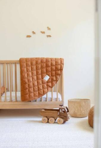 Warren Hill Linen Playmat (rust)