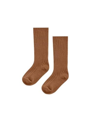 Rylee and Cru Knee High Socks 3pck (cinnamon, natural, black)