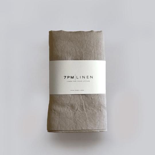 7 Pm Linen Wrap/Swaddle (natural)