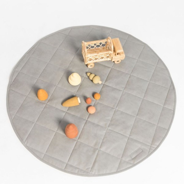 Henlee Quilted Playmat (stone)