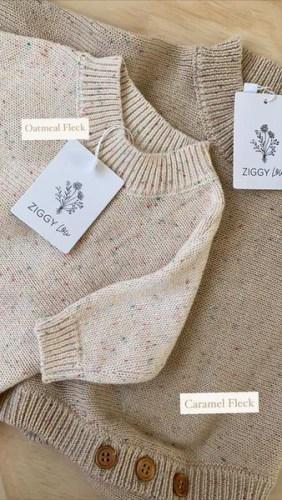 Ziggy Lou Heirloom Knitted Romper