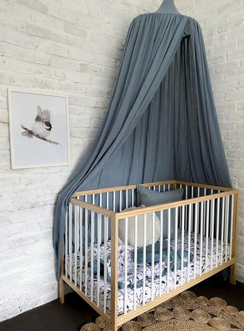 Pop Ya Tot Essential Bed Canopy (french blue)