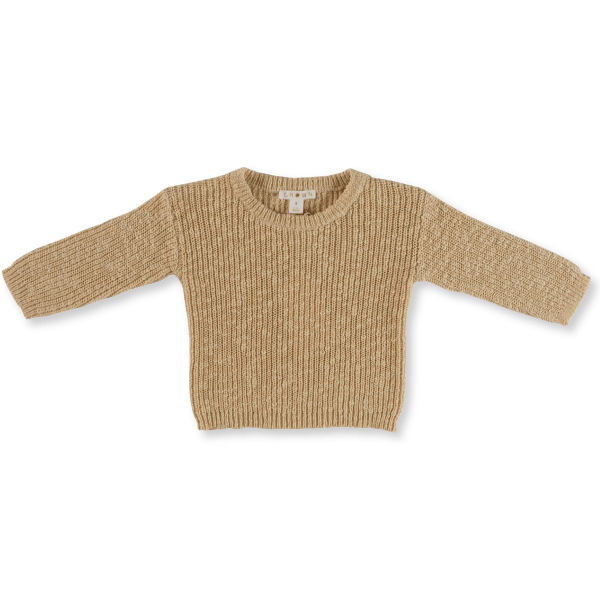 Grown Chunky Rib Knit Pull Over