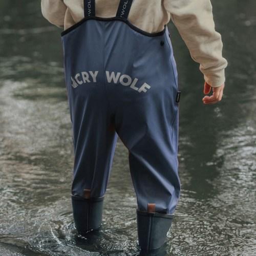 Crywolf Rain Overalls Indigo
