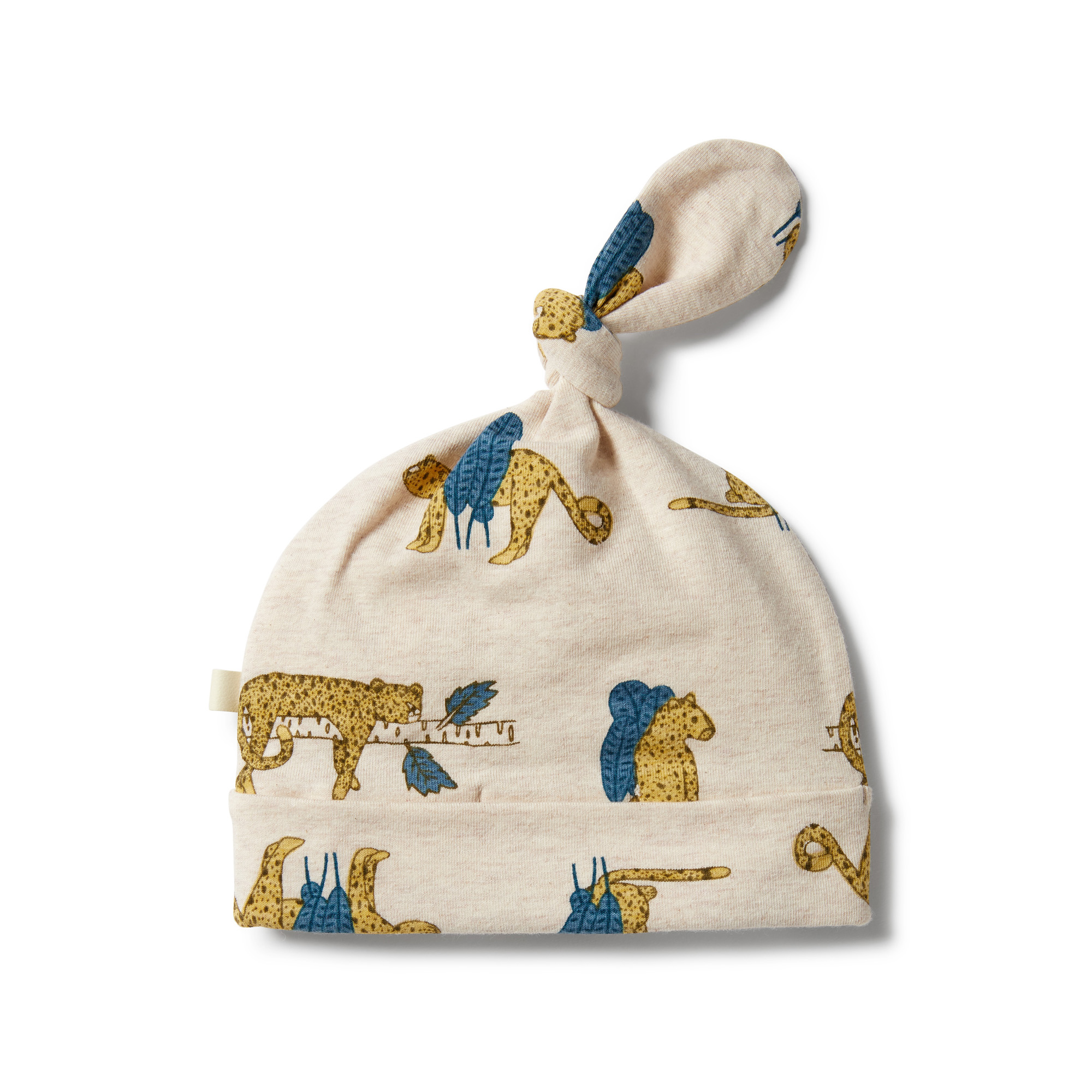 Wilson and Frenchy Organic Knot Hat (sneaky leopard)