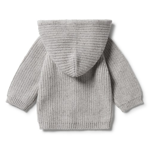 Wilson and Frenchy Knitted Jumper With Hood