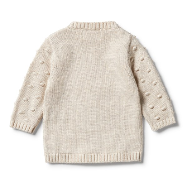 Wilson and Frenchy Knitted Jacquard Spot Jumper,