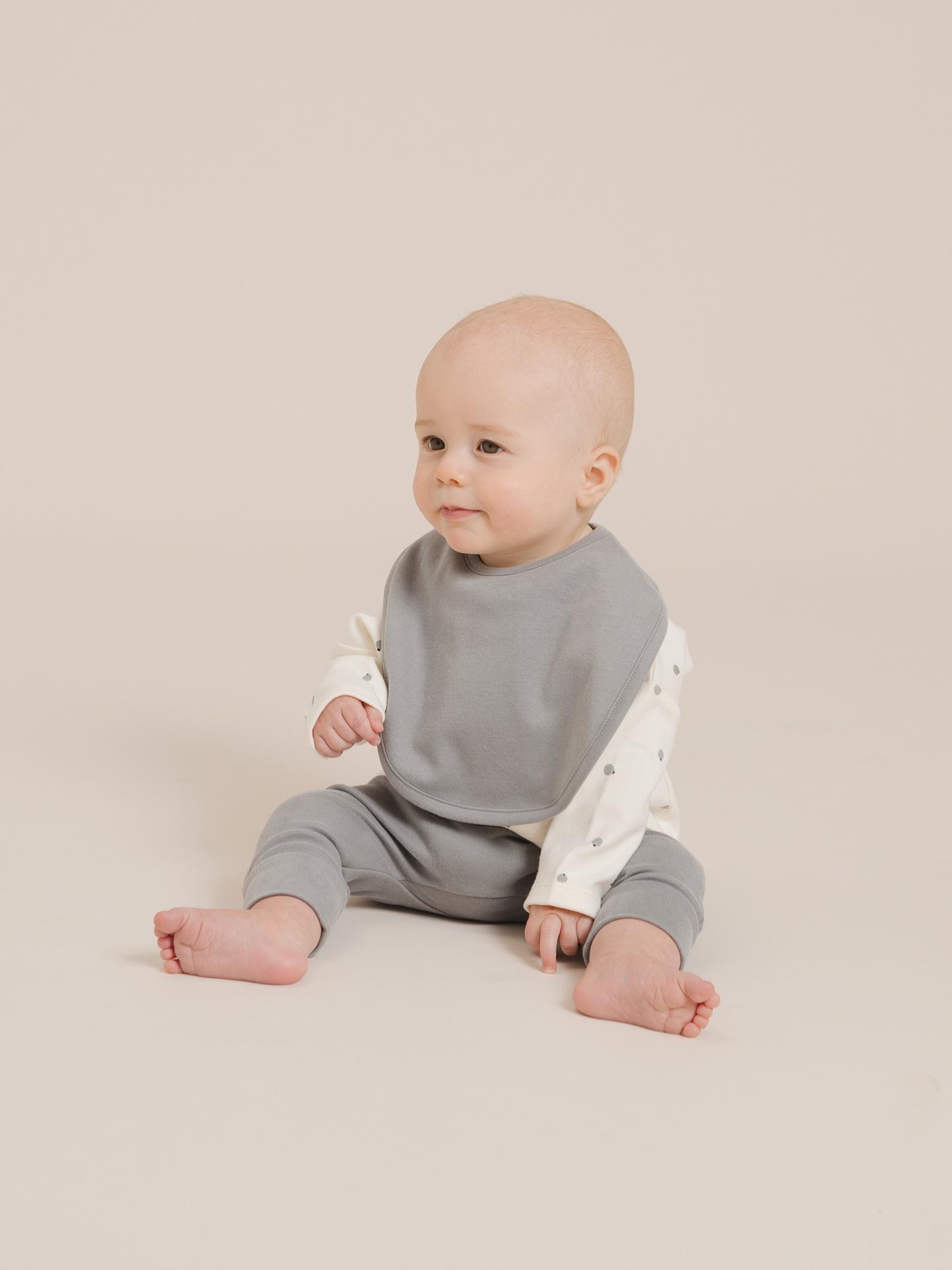 Quincy Mae Baby Snap Bib