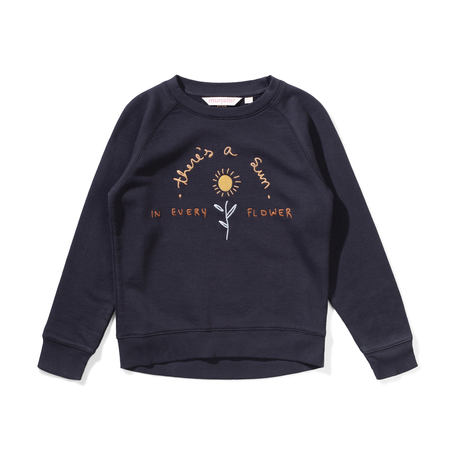 Missie Munster Sunflower Crew (black)