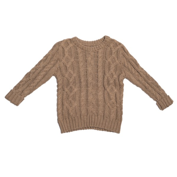 Children of the Tribe Tawny Cable Knit Jumper