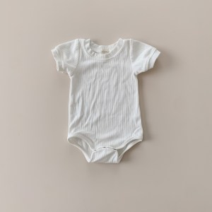 Two Darlings Baby Essential Bodysuit  (milk) ** Pre Order