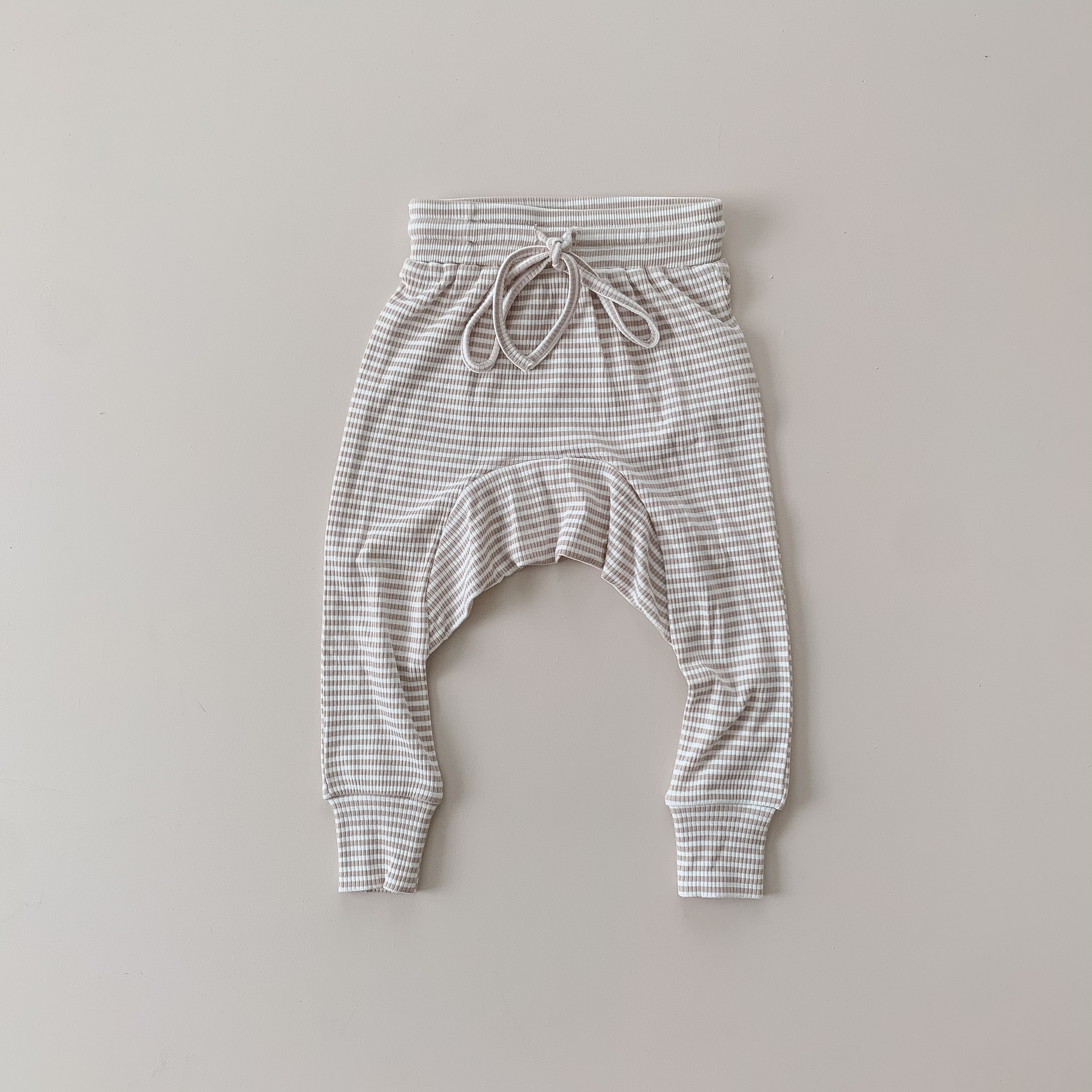 Two Darlings Baby Harem Pant (fawn stripe) ** Pre Order