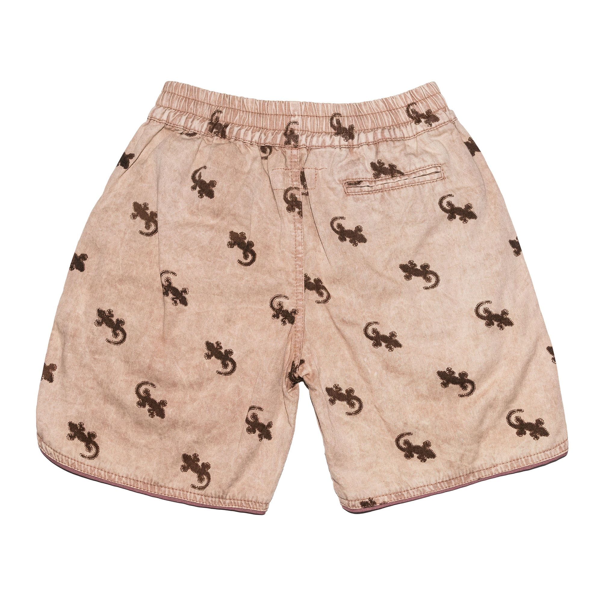 Children of the Tribe Tawny Gecko Drawstring Shorts ** Pre Order