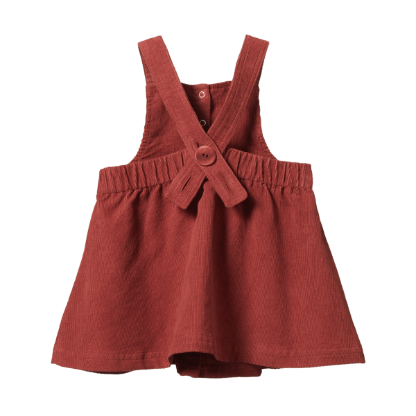 Nature Baby Peaches Pinafore (gingerbread)
