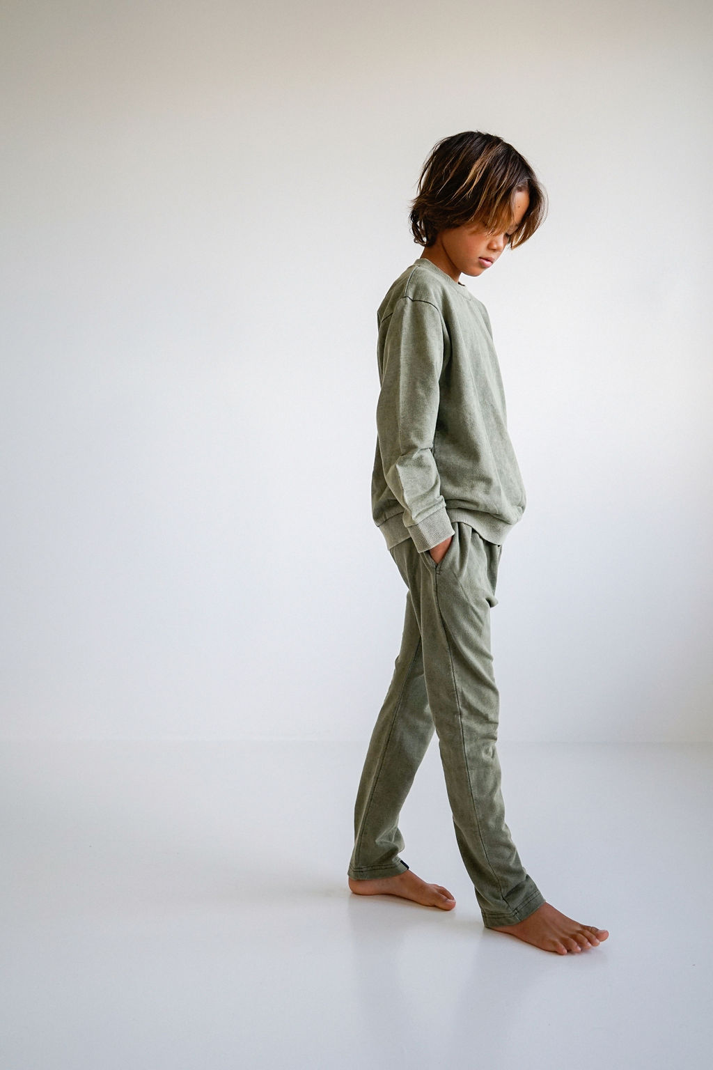 Children of the Tribe Olive Jumper ** Pre sale