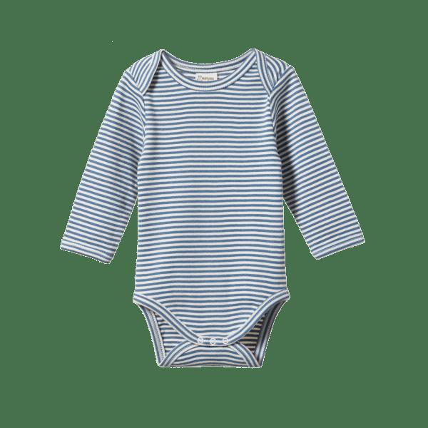 Nature Baby Drawstring Pant (navy)
