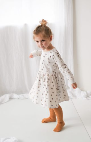 Burrow and Be L/S Jersey Dress (earth child)
