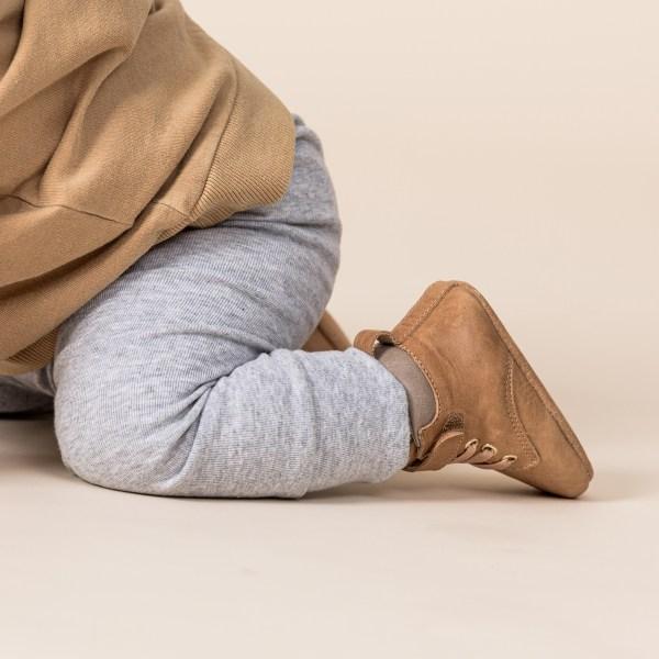 Pretty Brave Baby Archie Boot (tan)