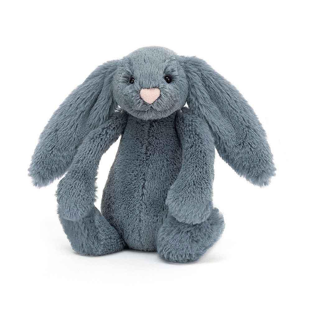 JellyCat Bashful Dusky Blue Bunny Meduim