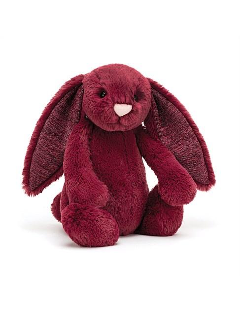 JellyCat BashfulSparkly Cassis Bunny Medium