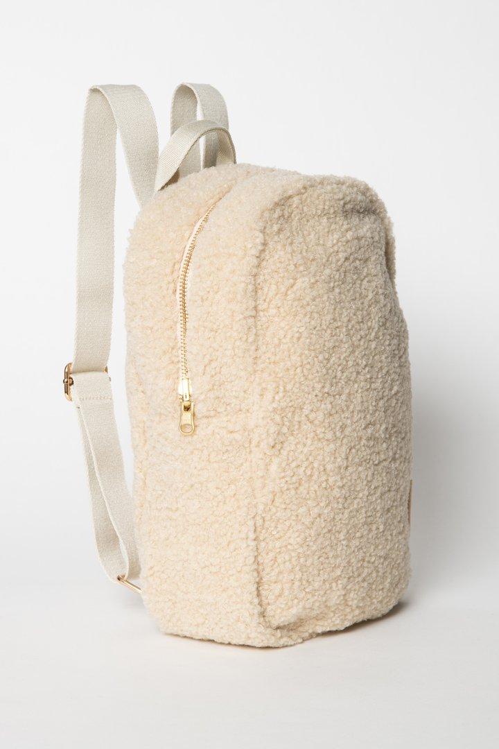 Studio Noos Mini Teddy Backpack (ecru)