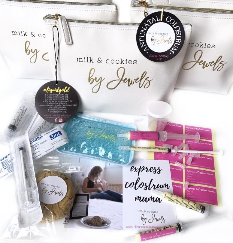 Milk and Cookies By Jewels Colostrum Collecting Kit